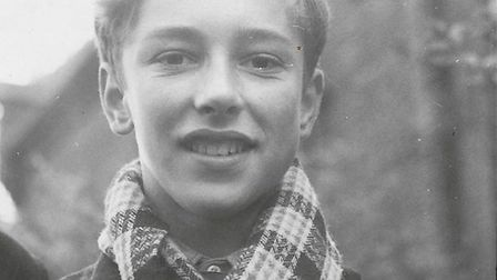 Bob Fowler in his teens. Picture: Supplied