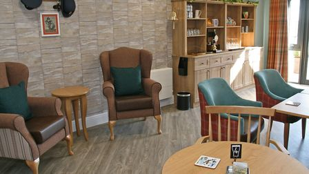 The facilities available at The Grange are second-to-none. There is a pub, hair and beauty salon and