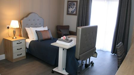 The care home in Saffron Walden has been kitted out with luxury furnishings to make the residents fe