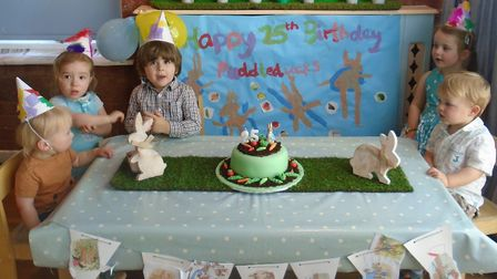 Puddleducks Day Nursery in Baldock celebrated its 25th anniversary yesterday. Picture: Sam Towns