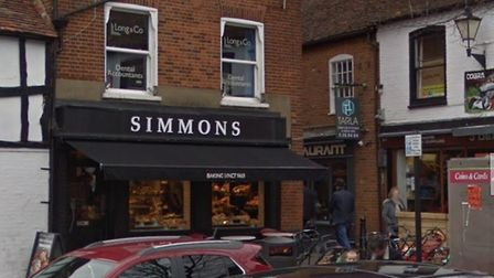 Simmons has reopened in Stevenage Old Town. Picture: Google