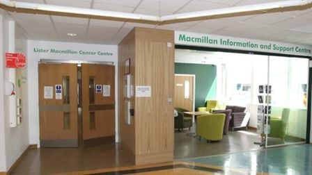 Macmillan Information and Support Centre at Stevenage's Lister Hospital has had to adapt its service