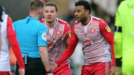 Stevenage will definitely finish bottom after League Two clubs agreed to end the season. Picture: DA