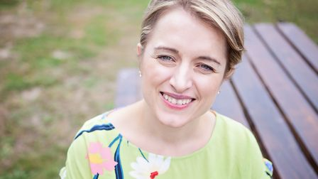 Former NH College pupil Gillian Harvey will release her debut novel Everything is Fine this month. P