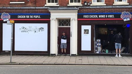 Chicken George will open in Hitchin on June, 16. Picture: Dan Simpson