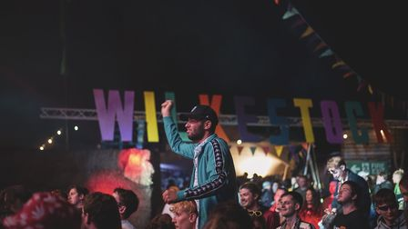 Revellers enjoying Wilkestock Festival 2019. Picture: Mary Cullen