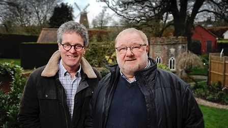 Cllr Mike Tayler and Cllr Martin Foley, who represent Thaxted and the Eastons on Uttlesford District
