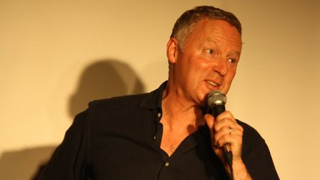 Rory Bremner at Hitchin Mostly Comedy. Picture: Gemma Poole.