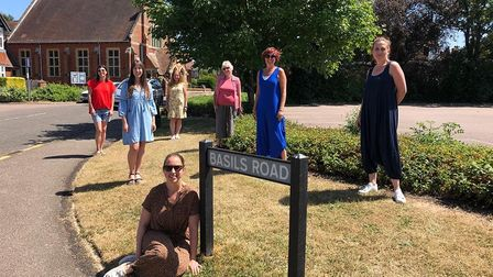 Basils Road, in the Old Town, could be named 'Britain's Friendliest Street.' Picture: Louise Drewett