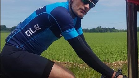 Police would like to trace this cyclist as they believe he has information on an incident that saw t
