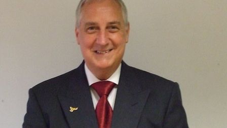 Cllr Terry Tyler is the new Chair of North Hertfordshire District Council. Picture: NHDC