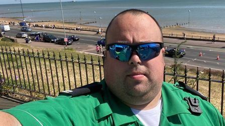 GTR employee Lee Southgate has dedicated thousands of hours to St John's Ambulance Trust. Picture: S