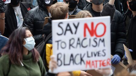 Protests have swept the globe amid outcry at the killing of George Floyd. Picture: Joe Giddens/PA