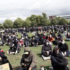 Thousands turned out at the Cambridge demo to say Black Lives Matter. Picture: ARCHANT