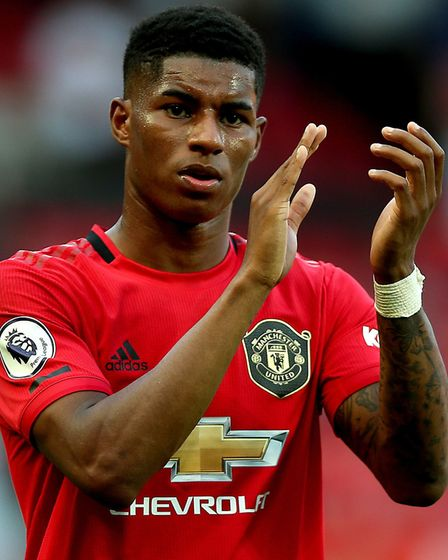 Manchester United striker Marcus Rashford led the calls to extend free school meals over the summer.