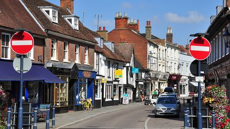 Hitchin's non-essential businesses have reopened for the first time as lockdown measures have eased.