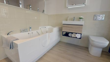 'Mobility bathrooms should be designed with safety and comfort as a priority and should be tailored