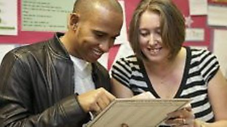 Formula 1 race ace Lewis Hamilton revisted his primary school Peartree Spring in Stevenage in 2010.