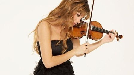 Nicola Benedetti plays Mendelssohn, February 17. Picture: Supplied