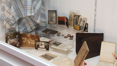 Barnwell School's legacy project on display at Stevenage museum. Picture: Danny Loo