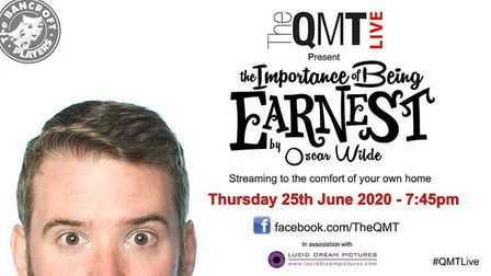 The Bancroft Players' stream of Oscar Wilde's The Importance of Being Earnest can be watched online