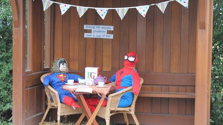 The Holwell Scarecrow Festival is now in its fourth year. Picture: Nigel Eaton