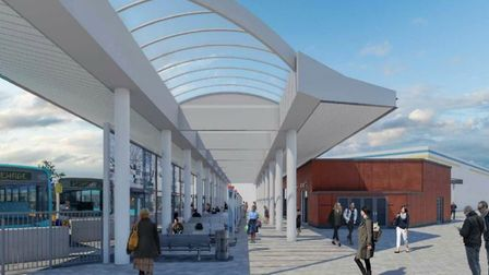 Concourse space with central barrel rooflight spine. Picture: SBC