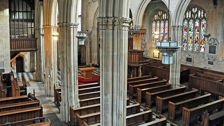 St Mary's Church, Hitchin. Picture: Archant