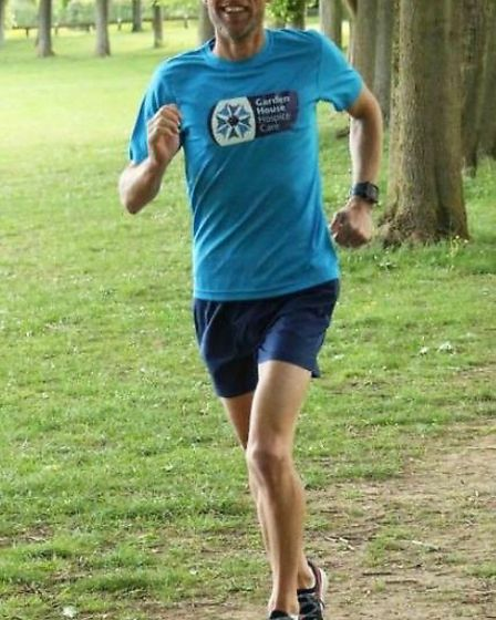 Simon is a member of the Fairlands Valley Spartans and a triathlete with Freedom Tri. Picture: GHHC