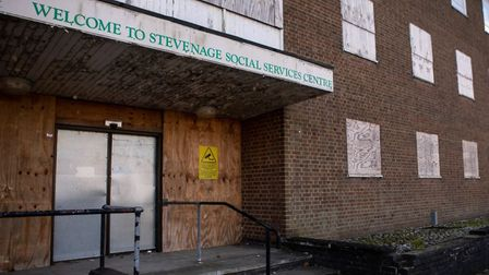 The now abandoned Social Services Centre in Southgate, Stevenage. Picture: Google