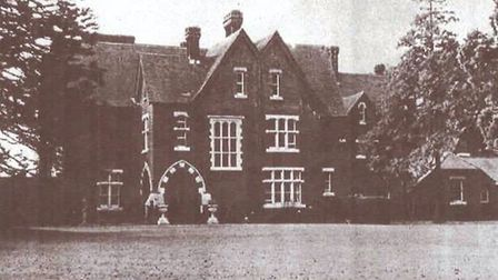 An old photograph of the Foxholes Care Home building. Picture: Supplied