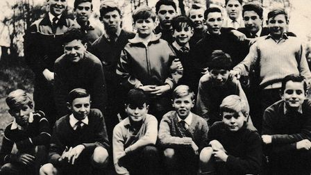 Members of the Catholic Boarding School in the 1960s. Picture: Supplied