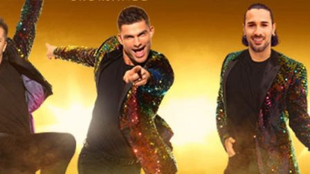 Pasha, Aljaz and Graziano, dancers from Strictly, will be at The New Theatre Peterbrough. Picture: