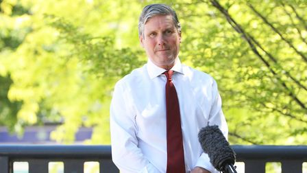 Labour Leader Keir Starmer visits Stevenage to discuss the role of towns and our economic recovery i