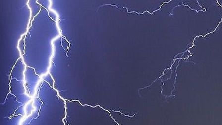 A yellow warning for thunderstorms has been issued across Hertfordshire. PICTURE: Met Office