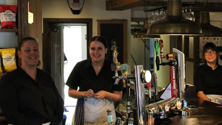 Stevenage pubs and restaurants have welcomed customers back with open arms this week. Picture: Jacob