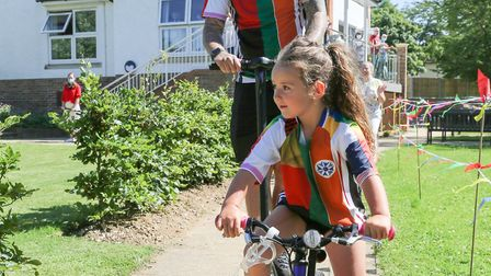 Betty-Leigh Allinson's final fundraising cycle, which has raised more than £25,000 for Letchworth's