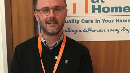 Kurt Gunthardt, MD of Right At Home Stevenage, Letchworth and Hitchin, praised the Volunteer Busines