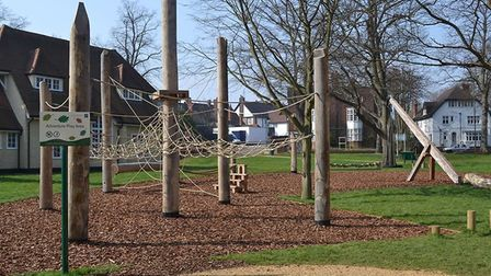 Have your say on the future of Howard Park and Gardens. Picture: NHDC