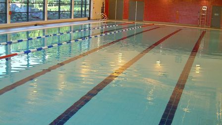 Royston Leisure Centre swimming pool. Picture: NHDC