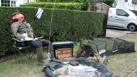 The Holwell Scarecrow Festival 2020. Picture: Nigel Eaton