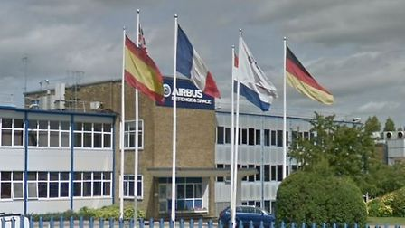 Airbus, which has a site on Stevenage's Gunnels Wood Road, has donated 600,000 surgical masks to Ste