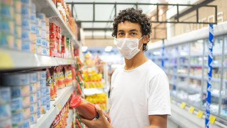 From Friday 24 July, wearing face coverings in shops will be mandatory in England. Picture: East and