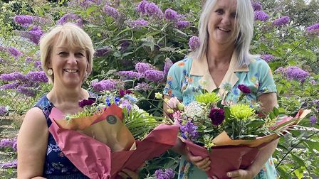 Debbie Ansell (L) and Julie Vernon-Hamilton (R) will leave North Herts Education Support Centre afte