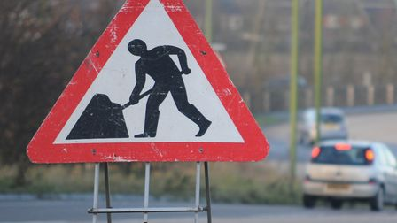 Roadworks are set to begin on the roundabout of J8 of the A1(M), affecting traffic into Hitchin and