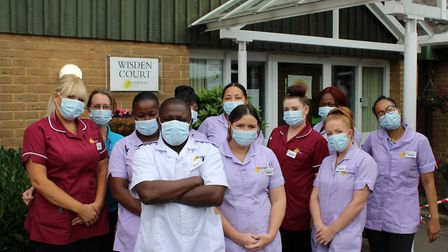 Staff were prepared to move in full-time if the pandemic required it. Picture: Jacob Savill