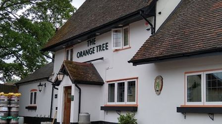 The Orange Tree in Baldock has made national news during the pandemic. Picture: The Orange Tree