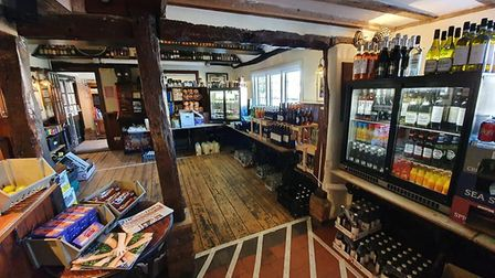 The pub on Norton Road has been converted into a pop-up greengrocer's. Picture: The Orange Tree