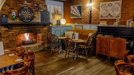 The Arena Tavern, in Letchworth, has been given a new lick of paint during lockdown. Picture: Savann