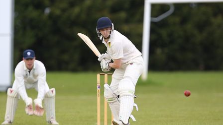 Ickleford's Matt Baxter hit 64 and took two superb catches against Holtwhites. Picture: DANNY LOO